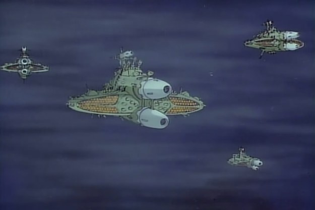 Gatlantis in Farewell to Space Battleship Yamato (1978)