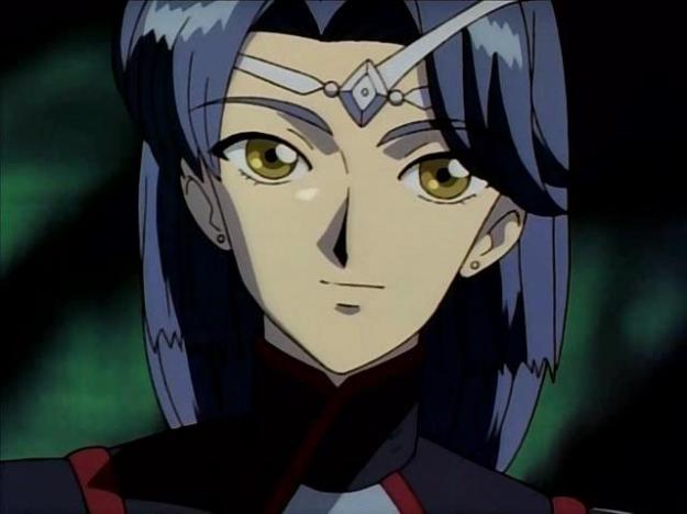 Miho Yamada plays Loy Atosuryua, Lafiel's commander and perhaps the best looking character in the show.